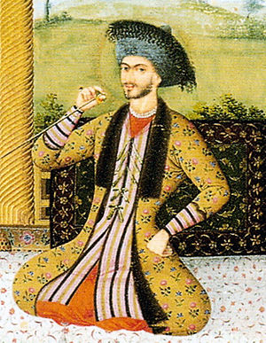 Suleiman I of Persia - Artwork of Shah Suleiman I, painted by Aliquli Jabbadar in 1670.