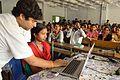 Sumantro Mukherjee Assisting Sumitra Pal Editing Wikipedia - Bangla Wikipedia National Workshop - Vidyasagar University - West Midnapore - 2015-02-25 6401.JPG