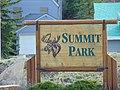 Summit Park, Utah sign, Apr 16.jpg