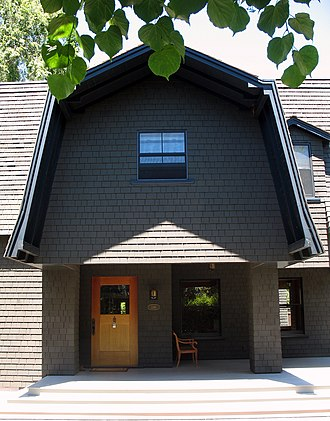 Professorville - Sun-bonnet House at 1061 Bryant St.