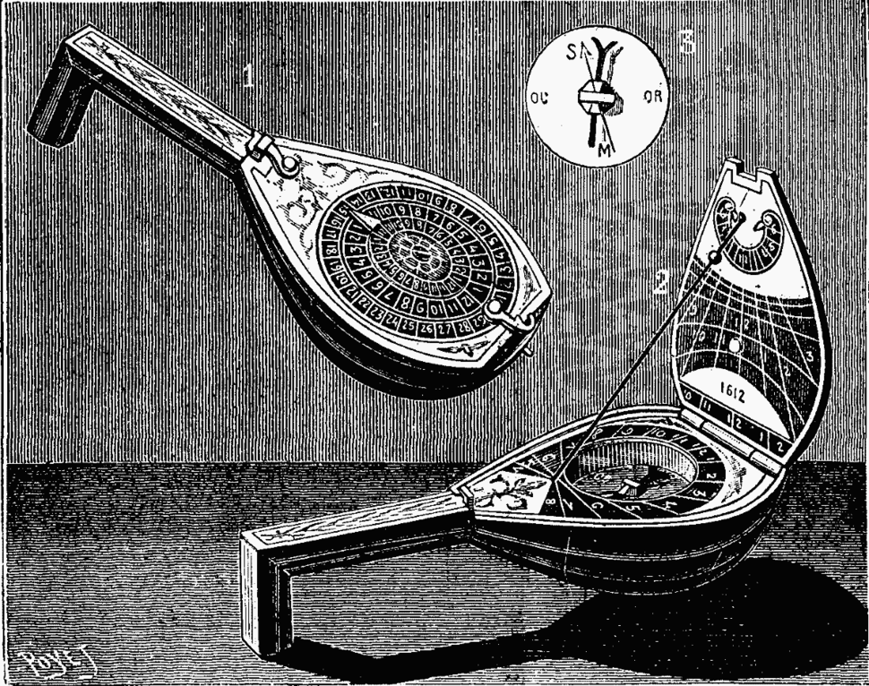 Sundial in the form of a mandolin - Project Gutenberg eText 15050