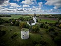 Sundre kyrka aerial photo.jpg