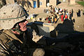 Suspect in death of Iraqi policeman detained; Marines, IPs visit family DVIDS136109.jpg