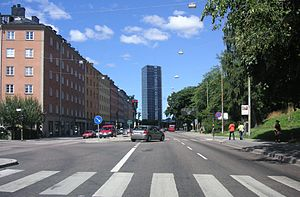 Sveavägen - Sveavägen in Stockholm in 2008.