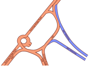 Switch Island - Switch Island with the then-new M57 connected