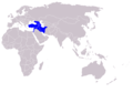 Syrian Brown Bear Distribution.PNG