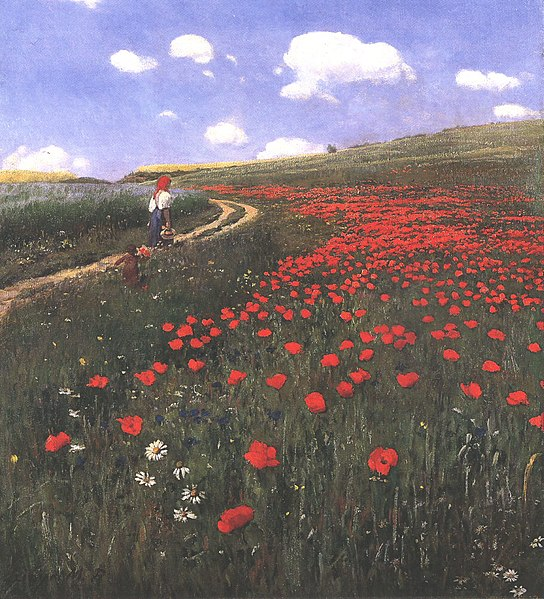 File:Szinyei Merse, Pál - Poppies in the Field (1902).jpg