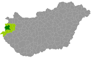 Szombathely District Districts of Hungary in Vas