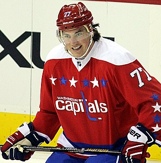 T. J. Oshie - Oshie joined the Capitals in 2015.