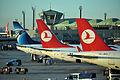 TC-JRG - TC-JGL - SU-GEB AT IST AIRPORT (15813020074).jpg