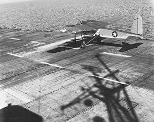USS Sable (IX-81) - A TDN-1 assault drone aboard Sable
