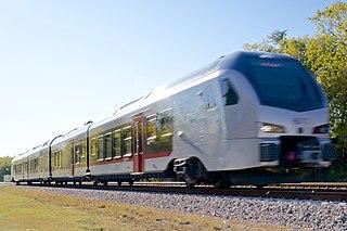 TEXRail Commuter rail line in Tarrant County, Texas