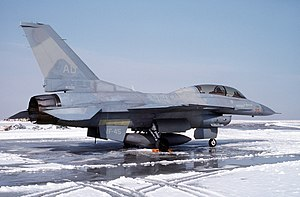 VF-45 (1963-96) - VF-45 F-16N at NAF Andrews in 1993