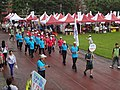 TIPC Port of Keelung team approach, Keelung City Athletic Meeting 20160521.jpg