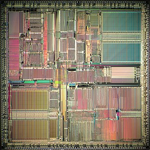 SuperSPARC - Image: TI Super SPARC I die