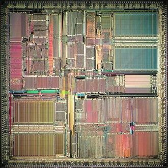 SuperSPARC - Image: TI Super SPARC I die