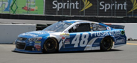 Jimmie Johnson's No. 48 Lowe's Chevrolet at Sonoma in 2015 TSM350 - 2015 - Jimmie Johnson 2 - Stierch.jpg