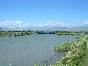 Lanyang River - Image: Taiwan Lan Yang River 2