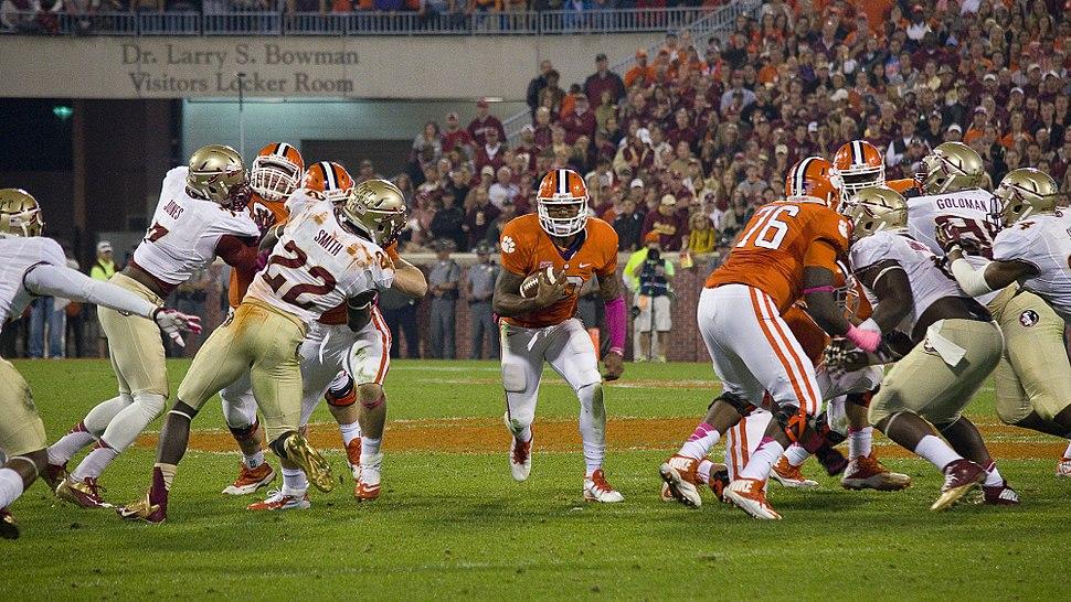Tajh Boyd running against Florida State
