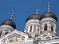 Tallin 2009, Aleksander Nevski Orthodox Cathedral South roof - panoramio.jpg