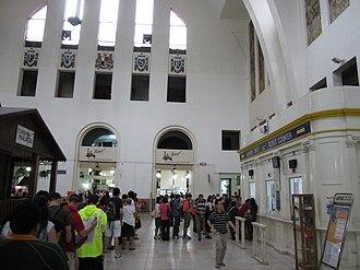 Tanjong Pagar railway station - The interior hall of Tanjong Pagar station