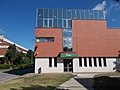 Tatabánya 1 post office, south, 2017 Tatabánya.jpg
