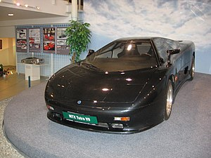 MTX Tatra V8 - MTX Tatra V8 - third prototype, now in Sports Car Museum Lány