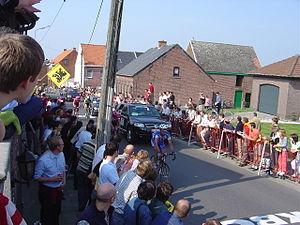 Helling in Brakel in de Ronde van Vlaanderen