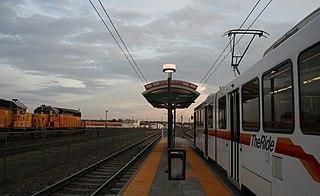 10th & Osage station RTD light rail station in Denver, Colorado, United States