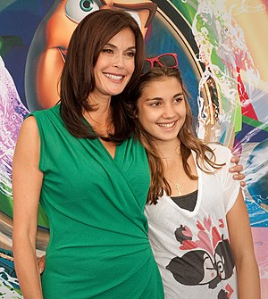 Teri Hatcher - Hatcher and her daughter at the World of Color premiere, 2010
