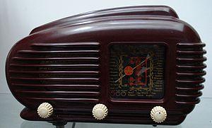 Tesla (Czechoslovak company) - Tesla 308U Talisman radio 1953-58