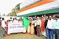 The Addl. DG (M&C), PIB, Kolkata, Shri Santanu Palodhi flagging of a rally to mark the beginning of the Bharat Nirman Public Information Campaign, at Bhakuri, Berhampore, Murshidabad, West Bengal on December 15, 2012.jpg