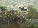 The Artist's Garden in Argenteuil (A Corner of the Garden with Dahlias) A12382.jpg
