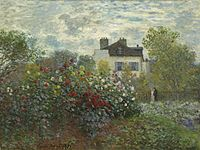 The Artist's Garden in Argenteuil (A Corner of the Garden with Dahlias) A12382.jpg