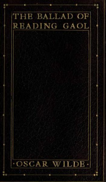 File:The Ballad of Reading Gaol (1904).djvu