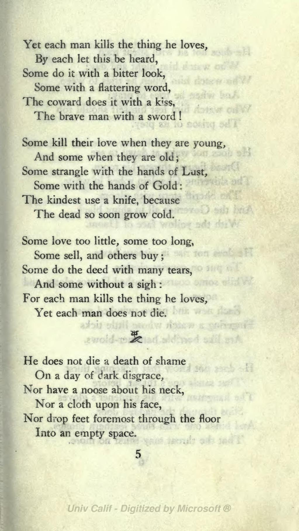 Page The Ballad Of Reading Gaol 1904 Djvu 21