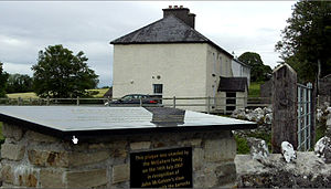 John McGahern - The Barracks, in Cootehall, where John lived from the age of 10