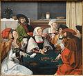The Card Players, after Lucas Van Leyden, Netherlandish, probably c. 1550-1599, oil on panel - National Gallery of Art, Washington - DSC09943.JPG