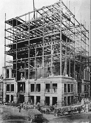 United Way Community Services Building - Image: The Detroit Chamber of Commerce Building Construction