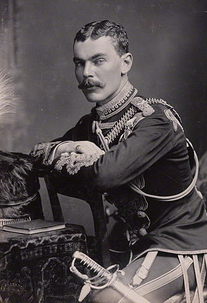 David Ogilvy, 11th Earl of Airlie - Image: The Earl of Airlie in 1883