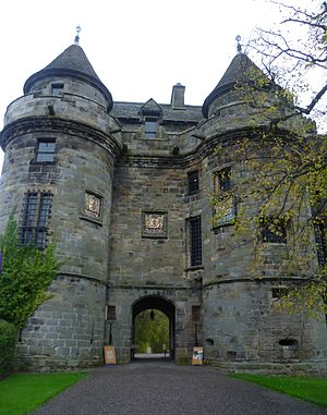 Falkland, Fife - Gatehouse of Falkland Palace