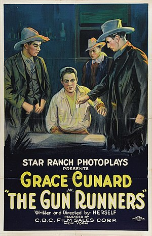 Grace Cunard - The Gun Runners (1920)