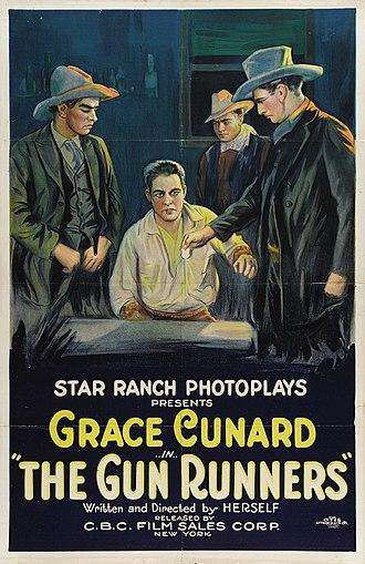 Grace Cunard - The Gun Runners (1920)