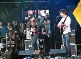 The Last Shadow Puppets in 2008