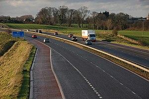 European route E18 - Image: The M1 near Moira (1) geograph.org.uk 300860