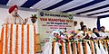 The Minister of State for Housing and Urban Affairs (IC), Shri Hardeep Singh Puri addressing at the inauguration of the Van Mahotsav 2018, in New Delhi.JPG