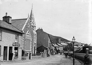 The Post Office and Congregational chapel, Aberdyfi