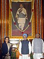 The Prime Minister, Dr. Manmohan Singh paid homage to late Sardar Vallabhbhai Patel on the occasion of his birth anniversary, in New Delhi on October 31, 2008.jpg