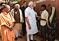 The Prime Minister, Shri Narendra Modi interacting with the people, at Shahanshahpur, Varanasi, Uttar Pradesh.jpg