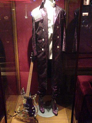 Purple - Stage costume of Prince